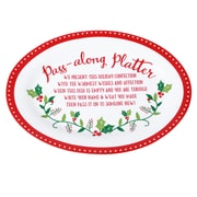 The Holiday Aisle Merry and Bright Pass Along Platter