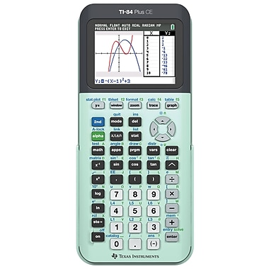 texas instruments ti-84+ ce mint scientific calculator | staples