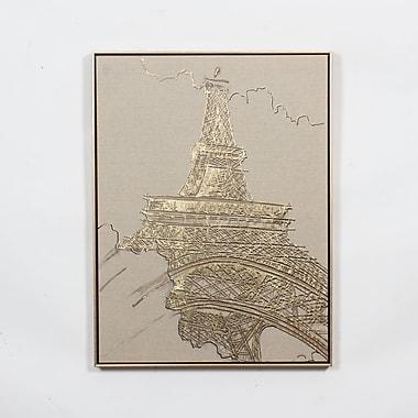 Eiffel Tower Canvas Print, 24