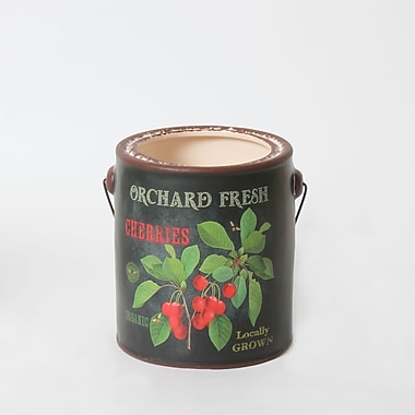 Cherries Ceramic Pail (2682-TX7543-00)