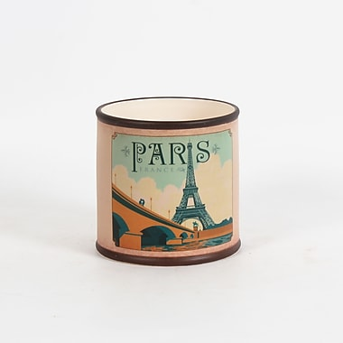 Pot en céramique rond, Paris, 5,3 x 5,3 x 5,3 po, 4/paquet (2683-WX3478-0L)