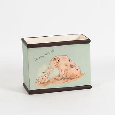 Pot en céramique rectangulaire, cochons, 7,6 x 4 x 5,9 po, 2/paquet (2683-WX3483-00)