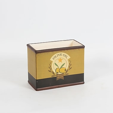 Olive Oil Rectangular Pot, Small, 7.6