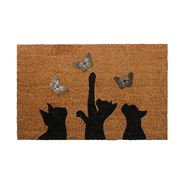 Three Kitty with B'Fly Mat, 31