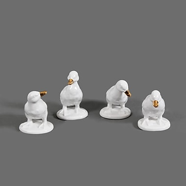 Calvin White Duck, 4 Piece Set, 4