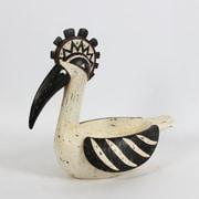 Bol décoratif en forme de cormoran, 15 x 8,3 x 16,1 po (6823-WX4044-00)