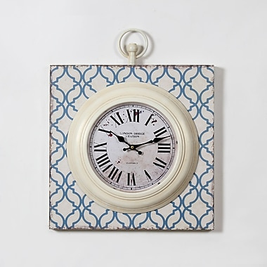 Ercole Metal And Mdf Wall Clock 15.75
