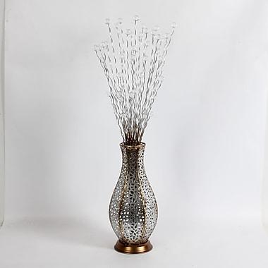 Branches en métal dans le vase décoratif (7400-WX2932-00)