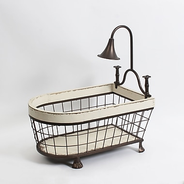 Bathtub Metal Basket, 18.1\