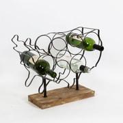 "Bedivere Wine Rack, 17.5"" x 6.3"" x 15"" (7603-WX1921-00)"