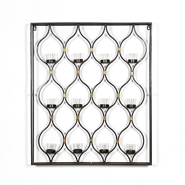 12 Drops Wall Candle Holder, 26