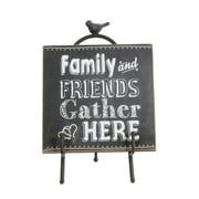 Plaque « Family & Friends » avec chevalet, 9 x 5,5 x 10 po, 2/paquet (9044-WX1400-00)