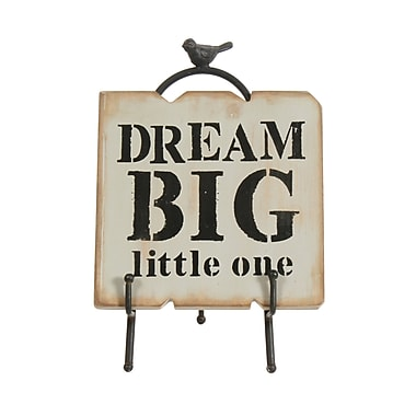 Dream Big Little One Plaque with Stand , 7