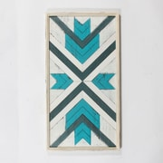 "Arrows Wall Plaque 22.5"" x 1.75"" x 43"", Blue/White (9277-WX3223-00)"