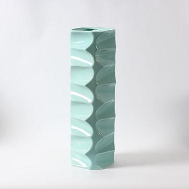 Nadia ? Long vase en céramique, bleu (9668-TX6327-00)