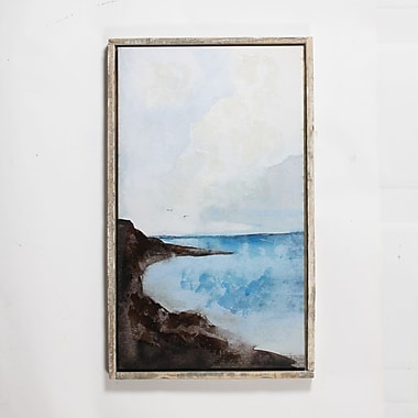 Seaside Canvas with Frame, 24