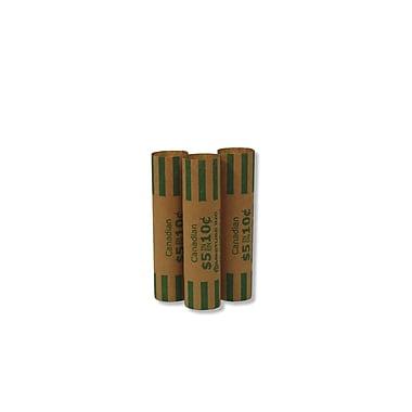NSS - Papier enrouleur de pièces, pour pièces de 10 cents, paq./4000