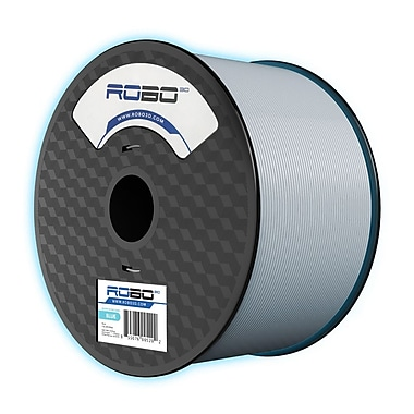 Robo 3D – Filament PLA de 1,75 mm, bleu luminescent, 1 kg