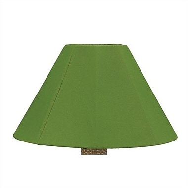 Latitude Run 20'' Sunbrella Empire Lamp Shade; Stardust Linen