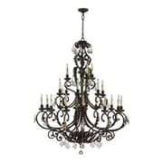 Astoria Grand Ancram 21-Light Candle-Style Chandelier