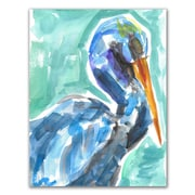 Bayou Breeze 'Tropical Pelican' Painting Print on Paper