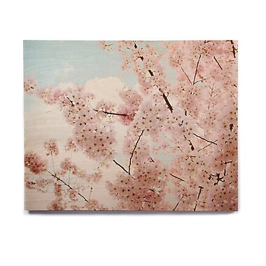 East Urban Home 'Spring Beauty' Photographic Print on Wood