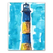 Longshore Tides 'Fire Island Lighthouse' Painting Print on Paper