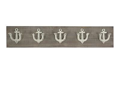 Longshore Tides Iron Anchor Motif Wall D cor
