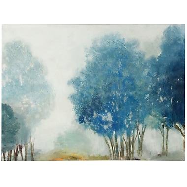 Alcott Hill 'Hazy Days' Painting Print on Canvas