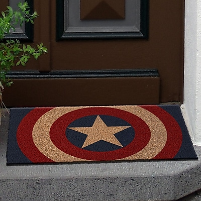 Pyramid America Captain America Shield Doormat WYF078281281478
