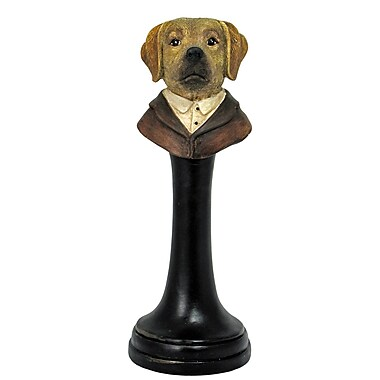 Alcott Hill Labrador on Stand Bust