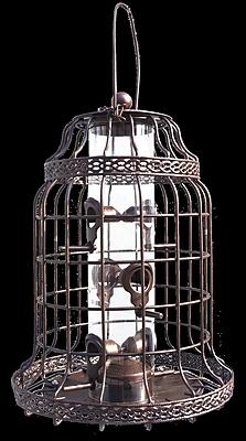 Arcadia Garden Products Heritage Bird Feeder; Bronze (WYF078281281955) photo