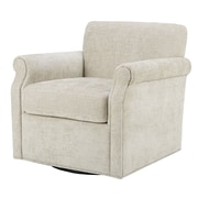 Alcott Hill Evans Swivel Arm Chair