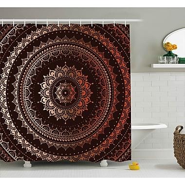 Bloomsbury Market Audington Ethnic Indian Universe Shower Curtain; 69'' W x 70'' L