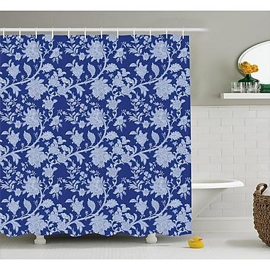 Bloomsbury Market Barr Middle Eastern Flowers Shower Curtain; 69'' W x 84'' L