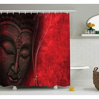 Bloomsbury Market Avondale Zen Yoga Hippie Decor Shower Curtain; 69'' W x 75'' L
