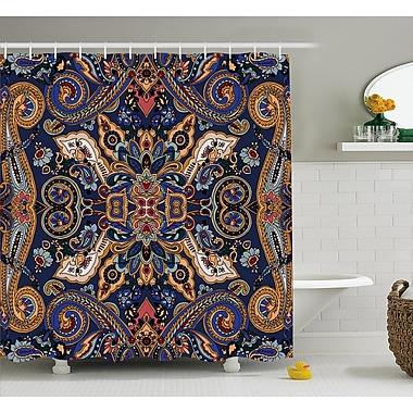 Bloomsbury Market Barnaby Moroccan Florets Decor Shower Curtain; 69'' W x 75'' L