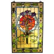 Astoria Grand Beley Tulips Window Panel