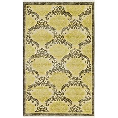 Astoria Grand Ascencio Green Area Rug; 5' x 8'