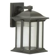 Charlton Home Oakhill Modern 3-Light Outdoor Wall Lantern; Small