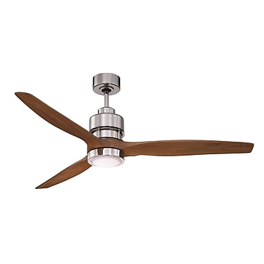Brayden Studio 52'' Spillman 3-Blade Walnut Fan Kit