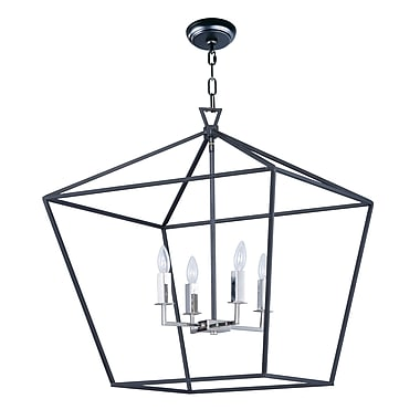 Darby Home Co Beckford 4-Light Geometric Pendant; 27.75'' H x 24.5'' W x 24.5'' D
