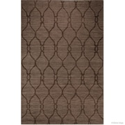 Darby Home Co Scribner High-Quality Wool Ultra Soft Artisan Patterned Chocolate Area Rug