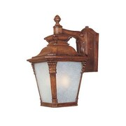 Designers Fountain Lancaster  Wall Lantern in Aged Venetian Walnut - Energy Star; 21'' H x 12'' W