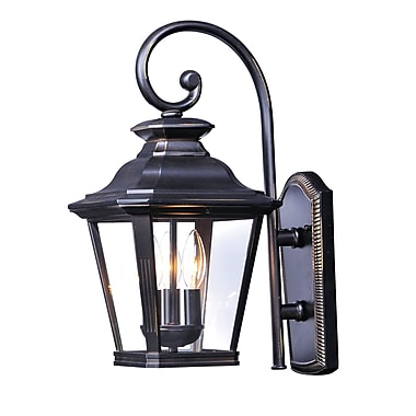 Darby Home Co Sunbury 3-Light Bronze Outdoor Sconce