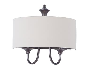 Darby Home Co Becher 1-Light Wall Sconce; Oil Rubbed Bronze
