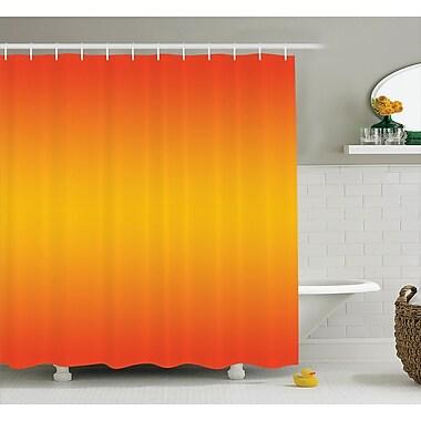 Ebern Designs Inspired Tropical Summer Themed Print Shower Curtain; 69'' W x 84'' L