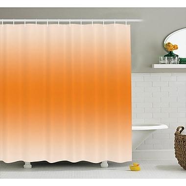 Ebern Designs Inspired Sun Summer Girly Decor Shower Curtain; 69'' W x 70'' L