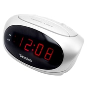 Ebern Designs Electric LED Alarm Clock; White