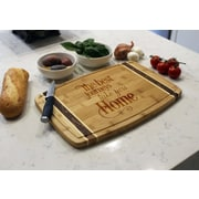Etchey Bamboo Marble Cutting Board